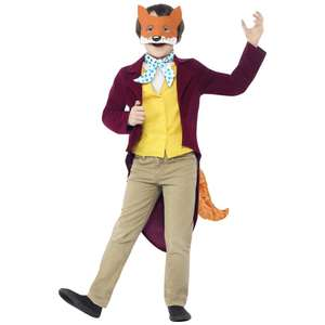 Roald Dahl Fantastic Mr Fox - Child's Costume now £6.99 @ Very