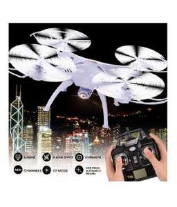X5SC-1 Explorers RC Quadcopter 4CH 6-Axis 2.4G Gyro Drone With 2MP HD Camera White £28.26 Sold by Fishingking and Fulfilled by Amazon