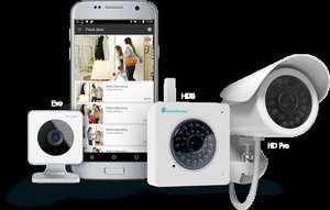Y-Cam HD Wi-Fi Security Cameras 25% off across home security range. So makes Evo Indoor HD Camera only £97.49