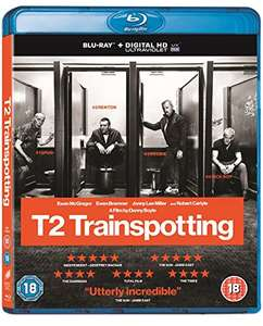 Trainspotting 2 Blu Ray Currently £7.49 + £1.99 Postage if not a Prime member