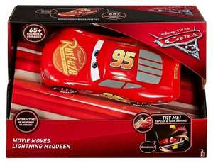 Disney Cars 3 Movie Moves Lightning McQueen Vehicle £23.25 @ Amazon