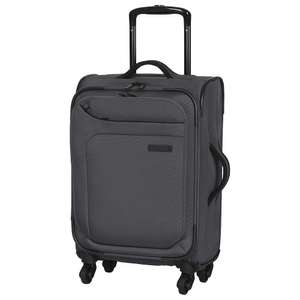IT Luggage Megalite 4 Wheel Suitcase Charcoal Small 31 Litre Capacity 2.1kg £20 @ Tesco / Ebay