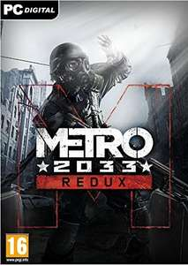 Metro 2033 Redux [PC Code - Steam] - £3.74 - Amazon