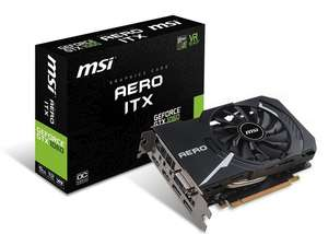 [AMAZON PREORDER] MSI Nvidia GeForce GTX 1060 AERO ITX 6G OC 6 GB GDDR5 192 Bit Memory DP/DVI/HDMI PCIe 3 Graphics Card - £238.59 @ Amazon