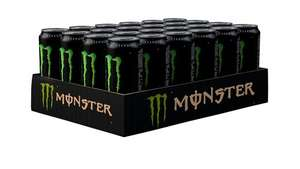 Monster Energy Drink Can 500 ml (Pack of 24) £15 (Prime) / £19.75 (non-Prime) @ Amazon