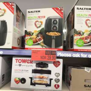 Salter health fryer @ B&M instore for £39.99