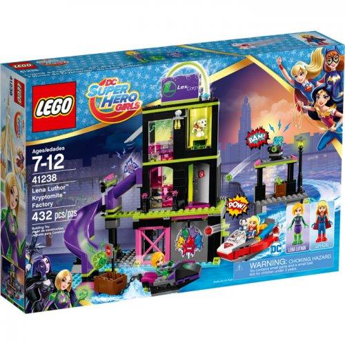 LEGO DC Super Hero Girls Lena Luthor™ Kryptomite™ Factory £27.50 Tesco, free c&c