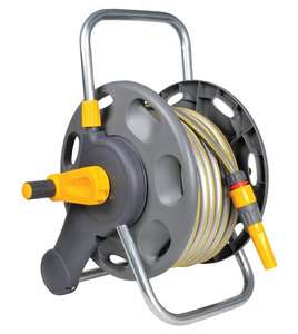 Hozelock 60m 2 in 1 Hose Reel with 25m Hose - £36.99 @ Amazon
