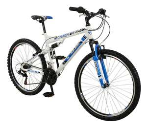 Boss Men's Astro Mountain Bike - Blue/White, Size 26 Amazon - £57.18