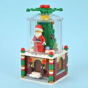 Christmas in July! Santa never sleeps! Get your free Lego Snowglobe on all orders of £60 or above. Limited-time offer at Lego.com