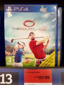 Golf Club 2 @ Sainsburys instore - £17.99 for both PS4 & Xbox One