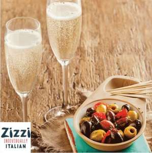 Free prosecco and olives with purchase - O2 Priority Offer