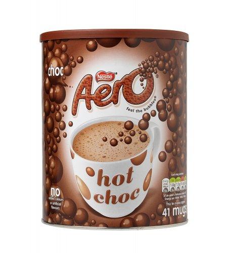 AERO Instant Hot Chocolate Tin, 1 kg - £4.72 [Amazon Add-on item]