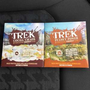 Trek Bars 99p for 3 x 55g at Aldi - down from £2.29/£1.99