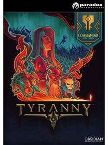 Tyranny Commander Edition PC @cdkeys - £11.99