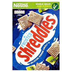 Nestle Frosted Shreddies (500g) was £2.57 now £1.25 @ Morrisons