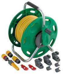 Hozelock 25 meter hose and reel - B&Q