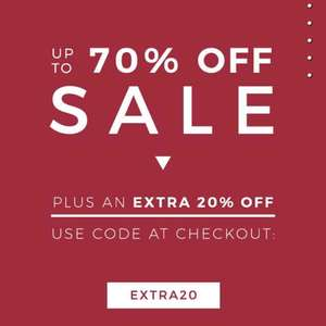 Upto 70% off Clothing sale + an Extra 20% off at The Idle Man