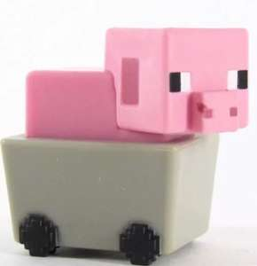 Minecraft Single Mini Figure Blind Bag/Box - 99p per figure at Argos.