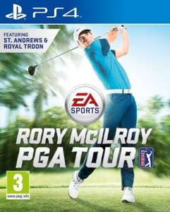 EA Sports Rory McILroy PGA TOUR on PS4 63% off on PSN for £5.79