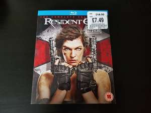 Resident Evil - The Complete Collection 1-6 Blu Ray @HMV In-store - £7.49