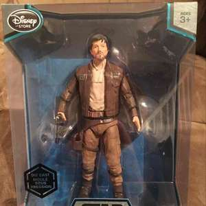 Star Wars Cassian Andor die cast Elite series, Disney Store Uxbridge £3.99