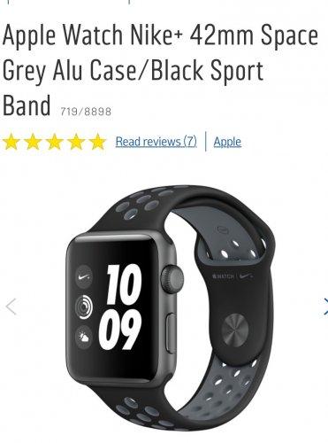 Apple Watch Nike+ 42mm £369 @ Argos