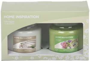 2 Yankee Candles in box for £10 @ Asda - free click and collect or £2.95 extra for delivery
