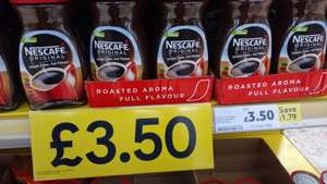 Nescafe 200g @ Tesco for £3.50