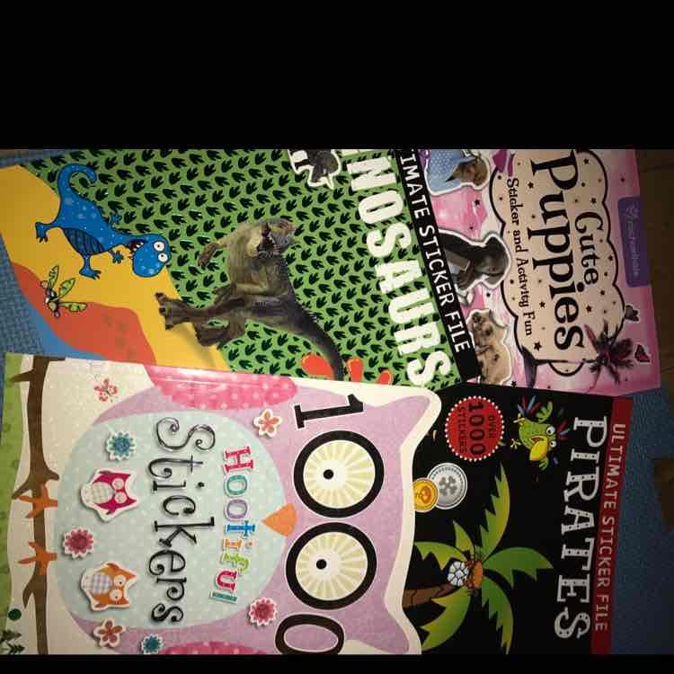 sticker books 10p instore Tesco Silverburn
