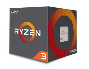 AMD Ryzen 3 1200 AM4 Retail Boxed Processor with Wraith Stealth Cooler £98.48 inc. vat and shipping @ ebuyer.com
