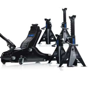 Good 2 Ton Low Entry Trolley Jack & Axle Stands £50.69 ON OFFER @  sgs-engineering.com