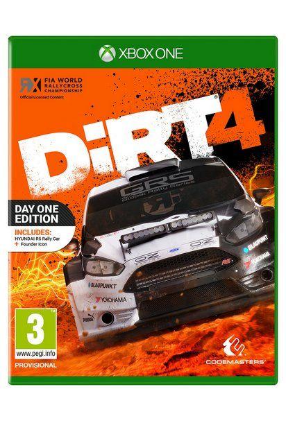 DIRT 4 Rally Xbox One £31.99 @ Argos