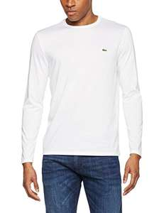 Lacoste Men's Th5276 long sleeve T-Shirt white size 5 Large £27.23 Del @ Amazon