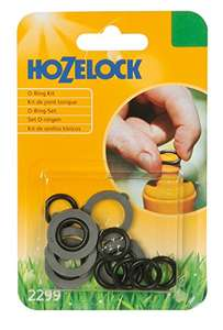 Hozelock fittings leaking? No need to replace - REPAIR THEM FOR A FEW PENCE EACH with this comprehensive Spares Kit for £3.19 Amazon free delivery (Add-on even cheaper at £2.79)