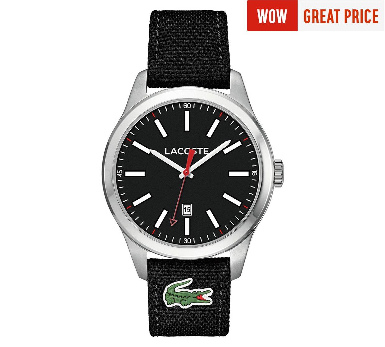 Lacoste Men's Auckland Black Strap Watch half price £49.99 @ Argos