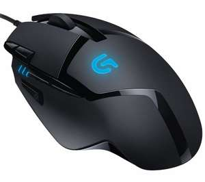 LOGITECH G402 Hyperion Fury FPS Optical Gaming Mouse  £22.49  Currys with code