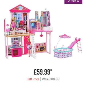 Barbie complete home set £59.99 @ Argos