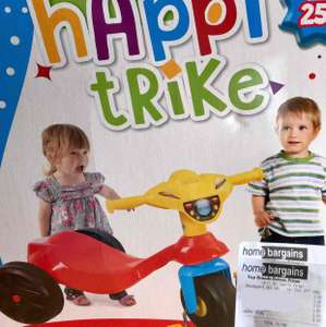Kids Playscape Happy Trike for 18+ months  - £9.99  Home Bargains