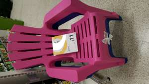 Wilko big plastic garden chair £11 instore
