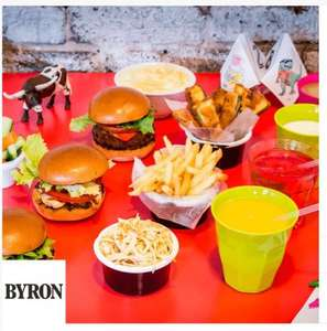 Kids eat for 25p at Byron when any Burger or Large Salad is purchased from main Menu - O2 Priority Offer