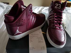 Nike Jordan 1 Flight 4 at Nike Outlet Freeport was £90 down to £35 plus extra 30% off