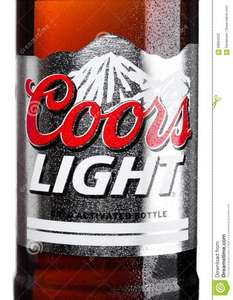 Coors Light 4 X 710 ml Bottles £6 at Asda!