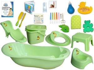 Baby bath 20 piece set with music - £47.99 + £6.86 shipping via eBay (Seller Babyshop-24)