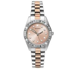 Sekonda Ladies' Two Tone Rose and Silver Colour Watch only £19.99 at Argos