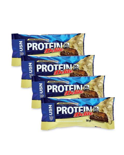 USN Yoghurt Toffee Protein Bar x 12 £14.28 @ Aldi