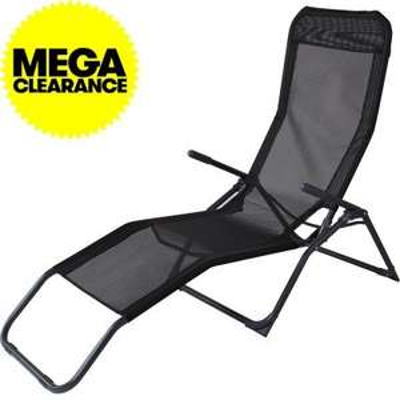 Siesta Reclining Sun Lounger Just £15.59 Instore & Online (£4.99 P&P) @ JTF