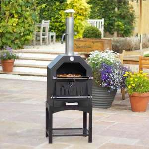 La Hacienda Pizza Oven, Barbecue and Smoker - 3 in 1 - Just  £89.97 (£5.97 delivery) @ BBQBarbecues