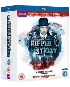 Ripper Street:the complete Series 1-5 (Box Set) [Blu-ray] £43.99 plus extra 10% off if first purchase @ zoom