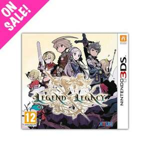 The Legend of Legacy - 3DS - NIS European Store (£16.49 + £2.49 del) - £18.98